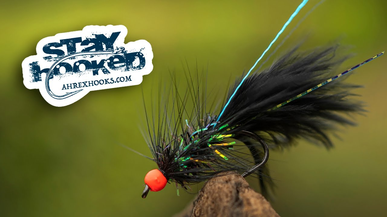 Ahrex-Black-Woolly-Bugger-tied-by-Jesper-Lindquist-Andersen