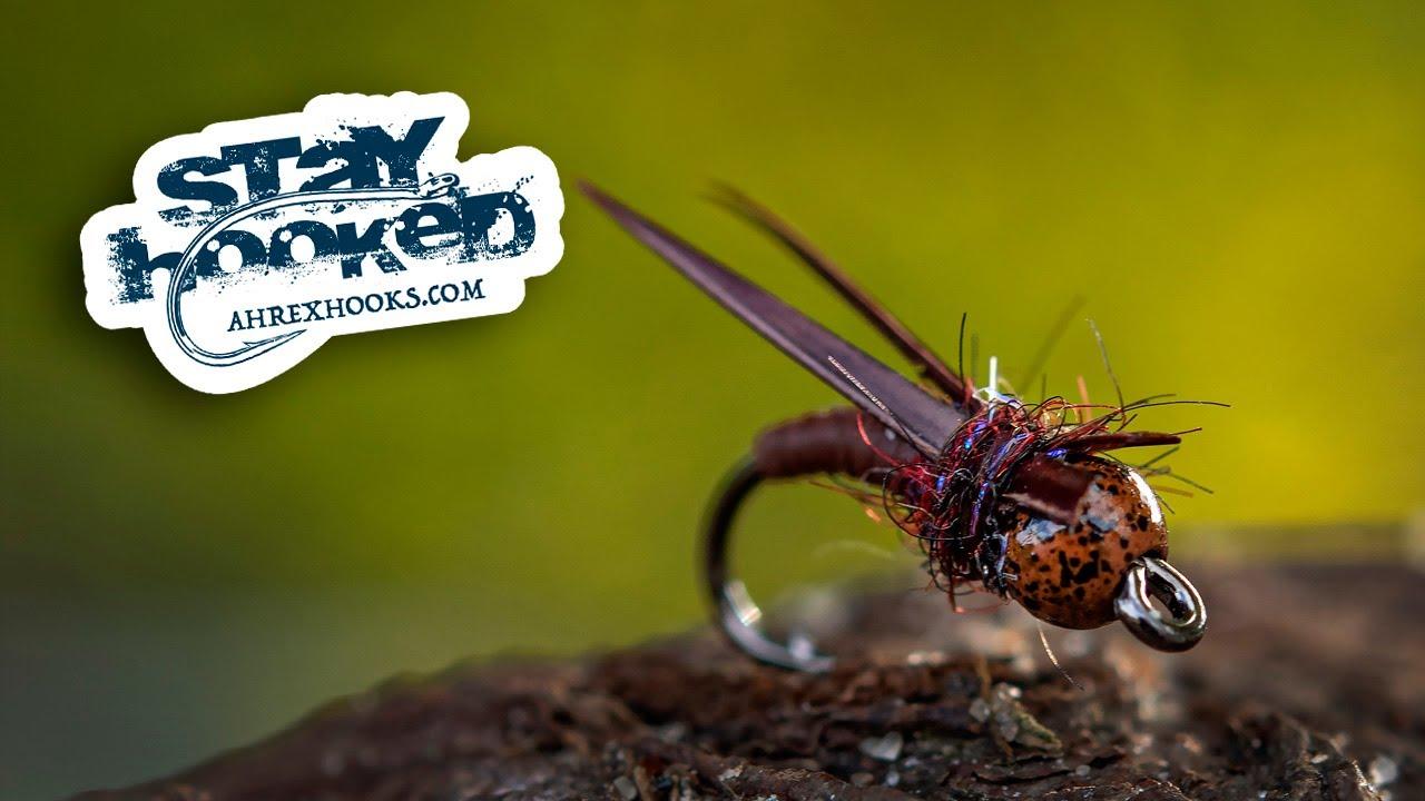 Ahrex-Walnut-Stonefly-Nymph-tied-by-Jesper-Lindquist-Andersen