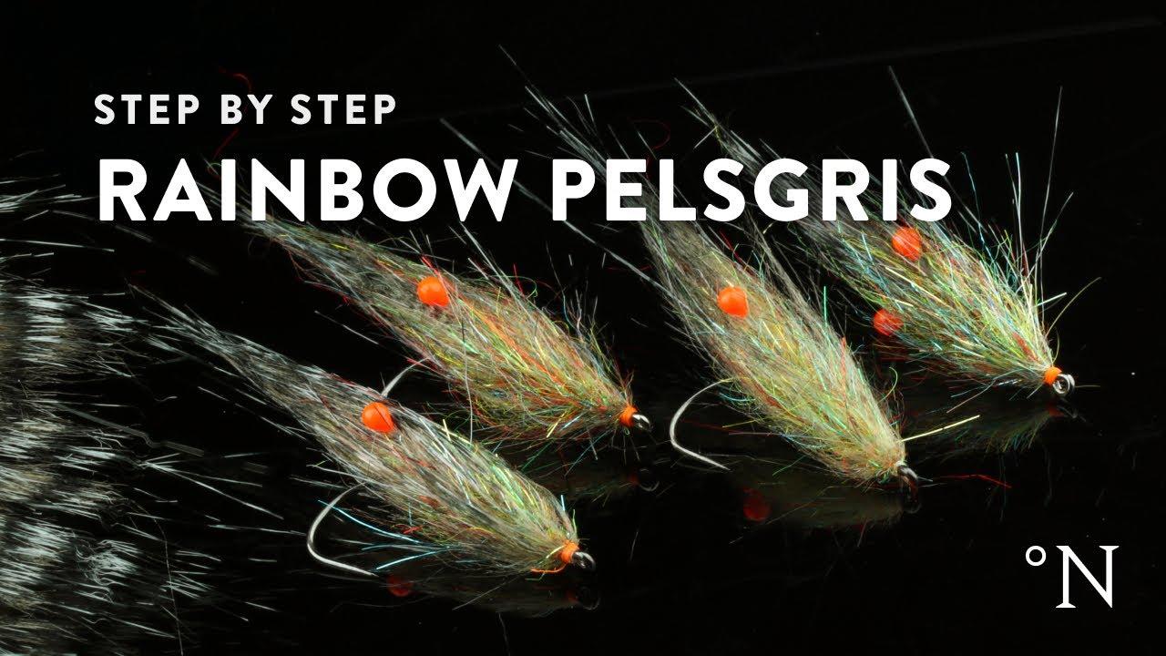 Fluebinding-Rainbow-Pels-gris